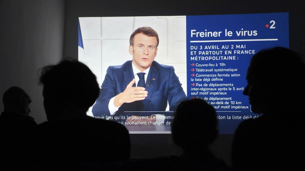 Macron se dirige a Francia para informar del confinamiento nacional