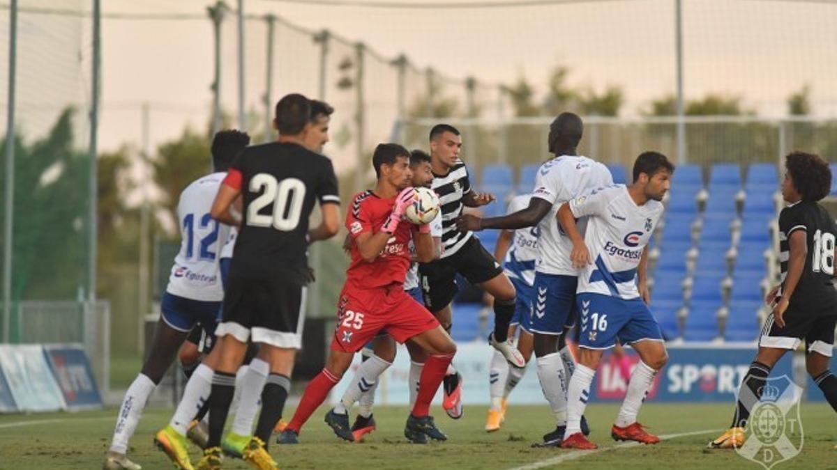 Enfrentamiento del pasado curso frente al Cartagena en el Pinatar Arena