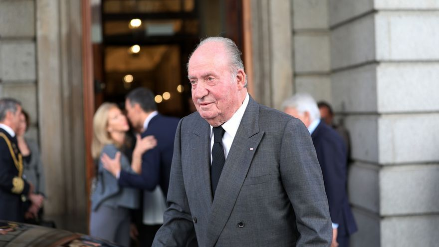 Juan Carlos I en una imagen de archivo.