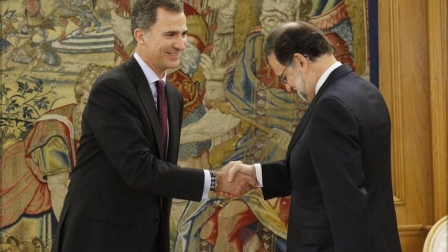 El Rey cierra hoy su cuarta ronda de consultas recibiendo a Ciudadanos, Podemos, PSOE y PP