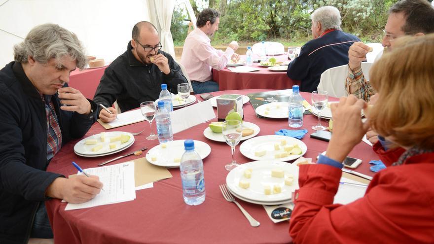 Concurso Oficial de Quesos de Gran Canaria 2017 celebrado en la Casa del Queso (Guía).