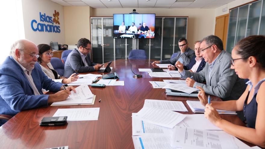 Consejo de Administración del Instituto Tecnológico de Canarias, encabezado por Carolina Darias.
