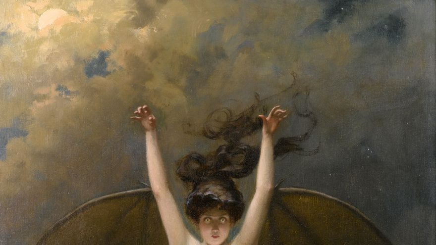 'La Femme Chauve-Souris' (1890), de Albert Joseph Pénot