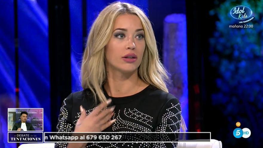 Mayka en 'El Debate de las tentaciones'