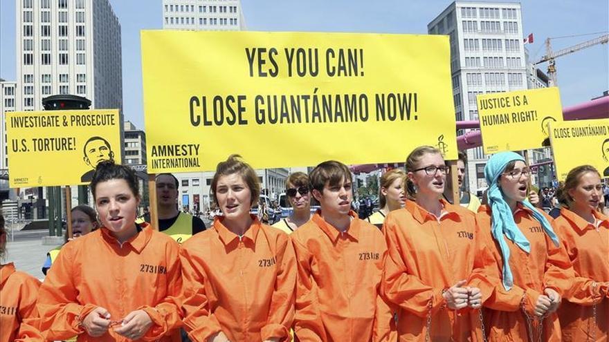Ocho argelinos permanecen detenidos en la cárcel de Guantánamo
