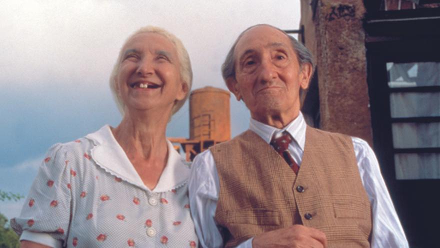 Silvia Casanova y Luis Ciges en 'El milagro de P. Tinto'
