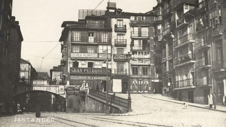 Fotografía histórica de Santander custodiada por el Centro de Documentación de la Imagen.   CDIS