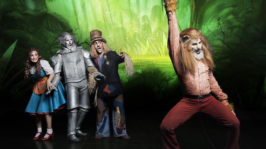 Un momento del musical 'Mago de Oz'.