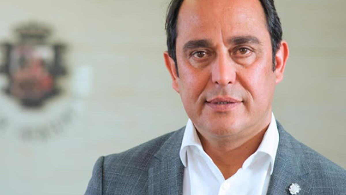 El expresidente del Cabildo de Fuerteventura, Blas Acosta