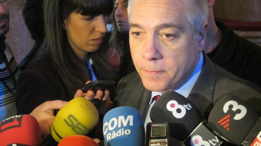 El PSOE resta trascendencia a que la cuarta parte de los diputados del PSC no hayan votado contra la moción soberanista