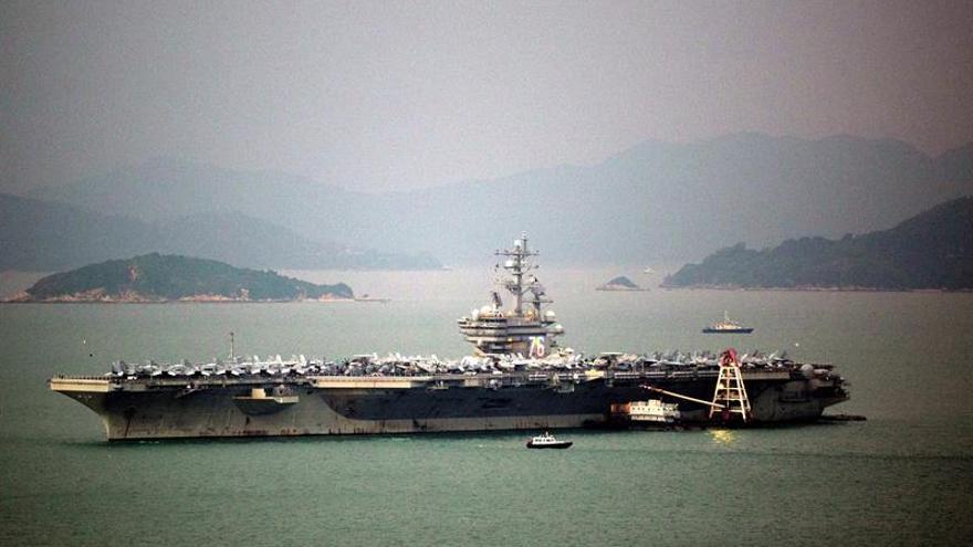 Tres portaaviones de EEUU harán maniobras en Asia en plena crisis norcoreana