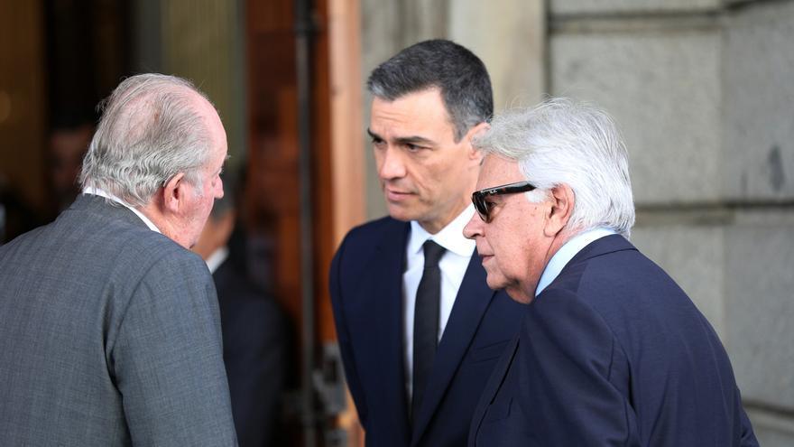 """Felipe González destaca de Rubalcaba que era el político """"con más capacidad e inteligencia"""": """"Lo echo de menos ya"""""""