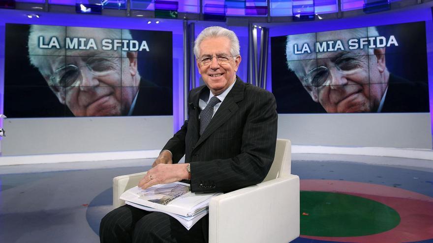 Monti dice que Berlusconi es volátil en las cuestiones humanas y políticas