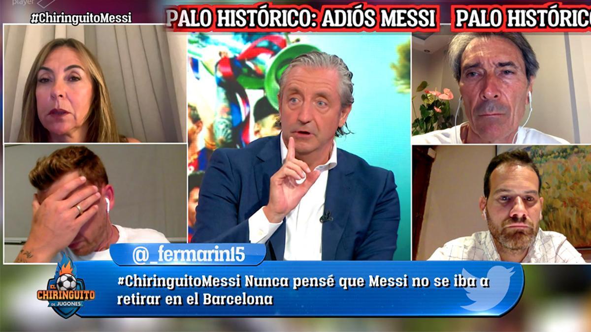 Imagen del especial de 'El Chiringuito' sobre Messi