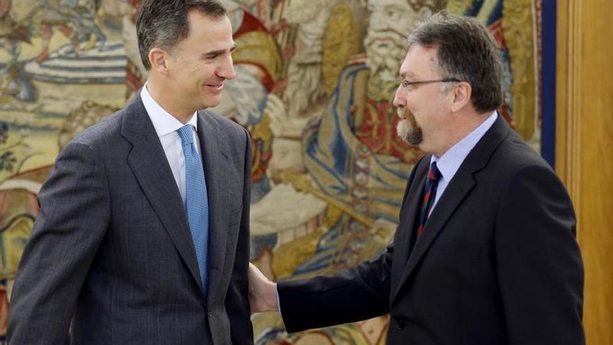 Felipe VI continúa con Foro Asturias la ronda de consultas abierta hoy