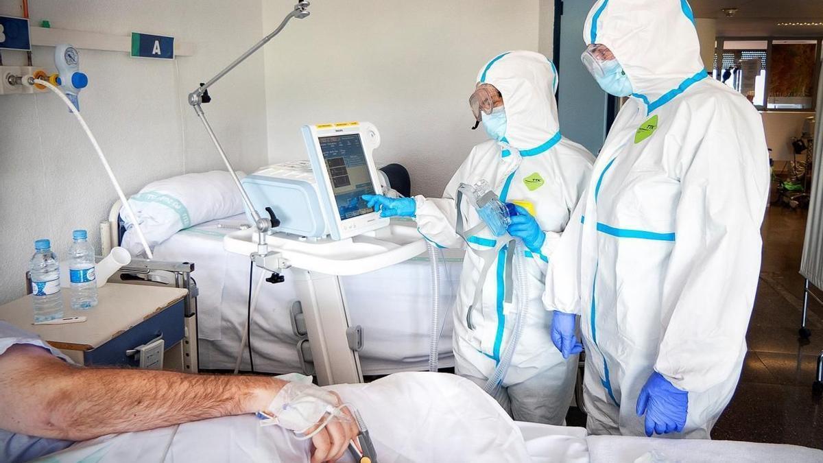 Pacientes con coronavirus en Castilla-La Mancha