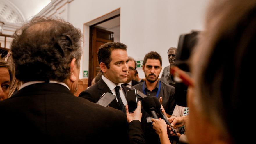 """García Egea, tras el cierre de cuentas en Twitter y Facebook: """"El PP siempre da la cara en Internet"""""""