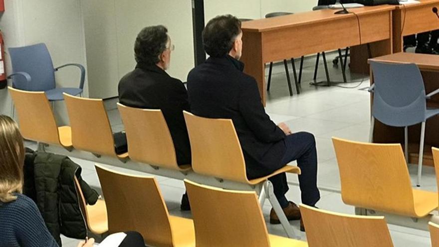 Imagen del juicio a Alfonso Grau