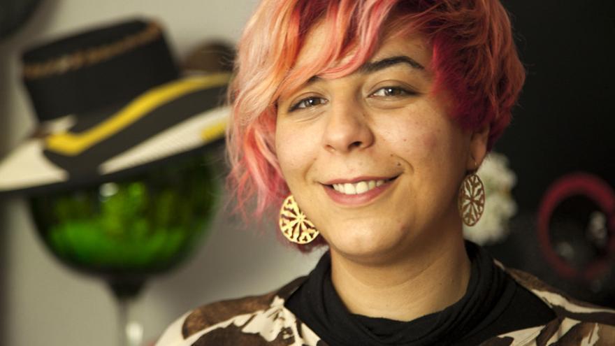 Lidia Lozano presentará su colección 'Opuntia' el próximo sábado en la Feria de la Moda de Tenerife