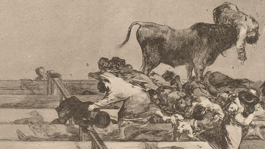 'Desgracias acaecidas en el tendido de la plaza de Madrid, y muerte del alcalde de Torrejón' (1816)