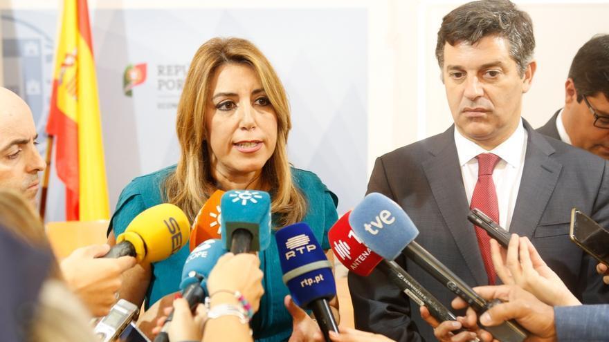 Susana Díaz reclama al Gobierno que se siente a negociar ya sobre las 35 horas ante la prórroga de los PGE