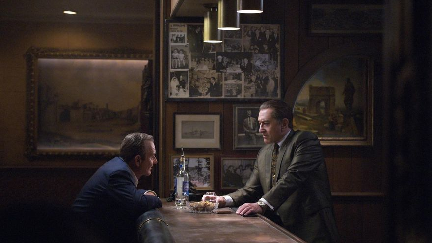Joe Pesci y Robert De Niro en El Irlandés