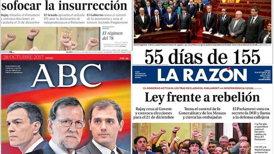 Principales periódicos editados en Madrid