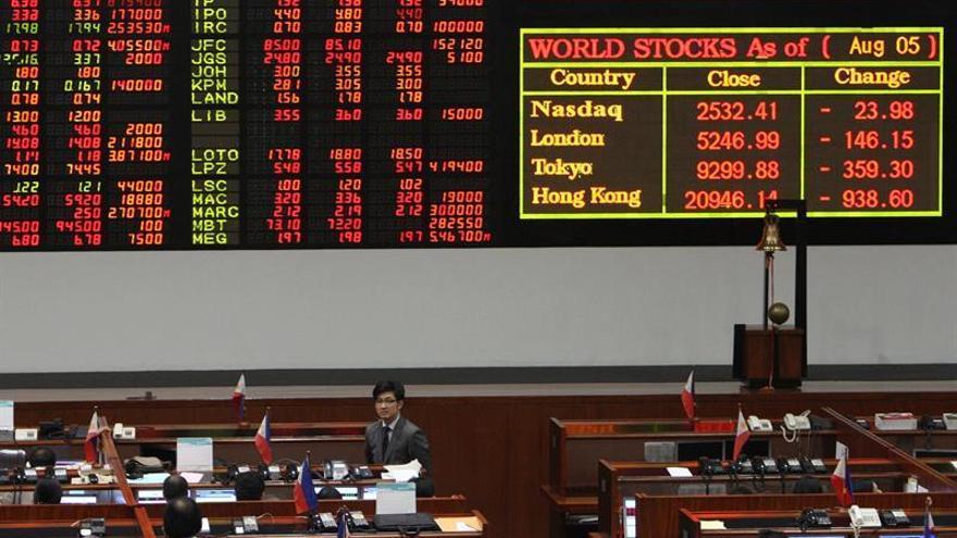 Las bolsas del Sudeste Asiático comienzan con pérdidas, salvo en Singapur