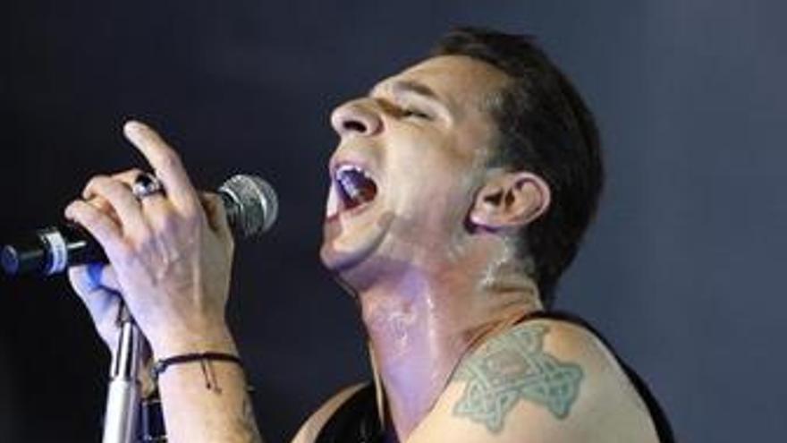 Dave Gaham cantante de Depeche Mode