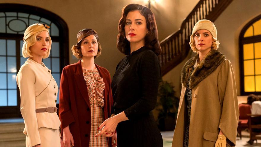 Imagen de Las chicas del cable en su tercera temporada