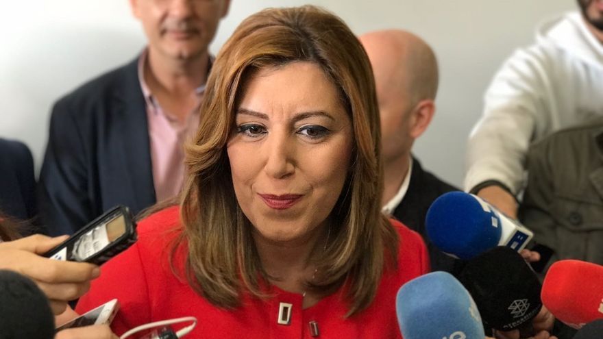 Susana Díaz insiste en que los españoles merecen un PSOE fuerte tras las primarias