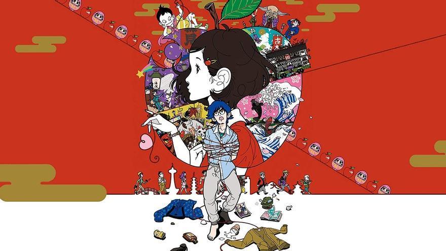 'Night is Short, Walk on Girl', una de las películas de Masaaki Yuasa estrenadas en Sitges