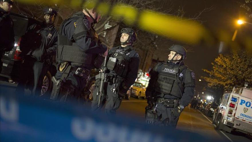 Dos policías mueren tiroteados en Nueva York