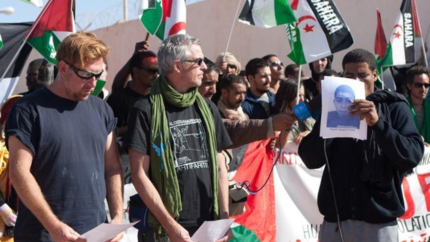 De la manifestación ante la ONU #3