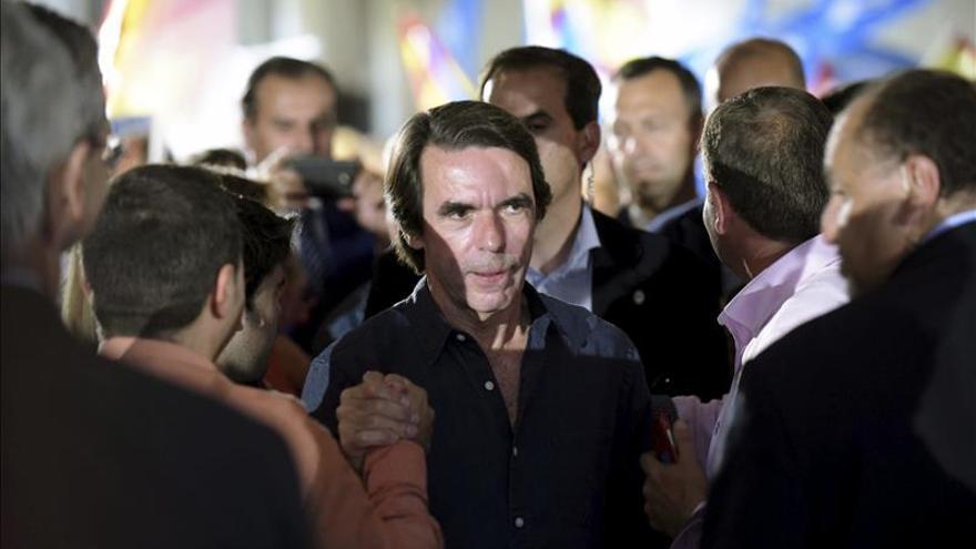 """Aznar critica la situación política andaluza """"por conveniencia de un partido"""""""