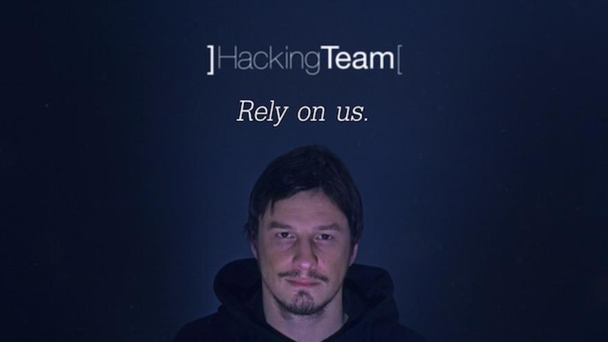 Imagen promocional de la empresa Hacking Team