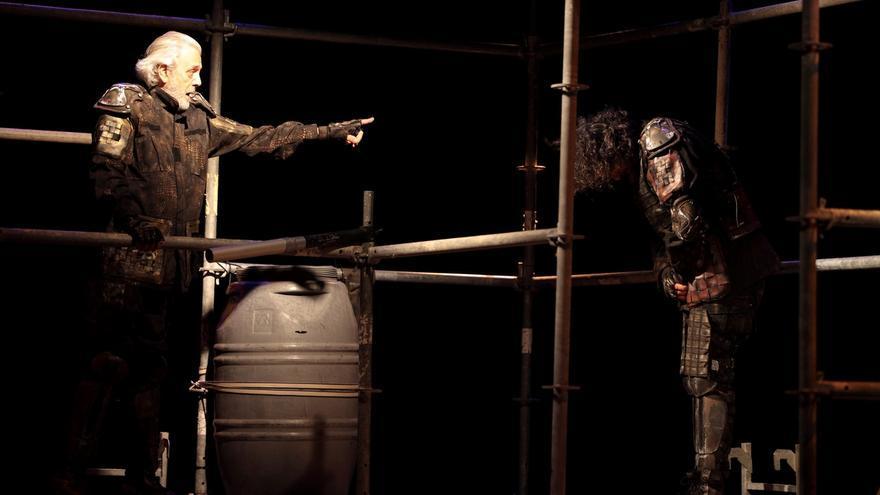 Llega al Palacio de Festivales una versión actualizada del 'Otelo' de Shakespeare