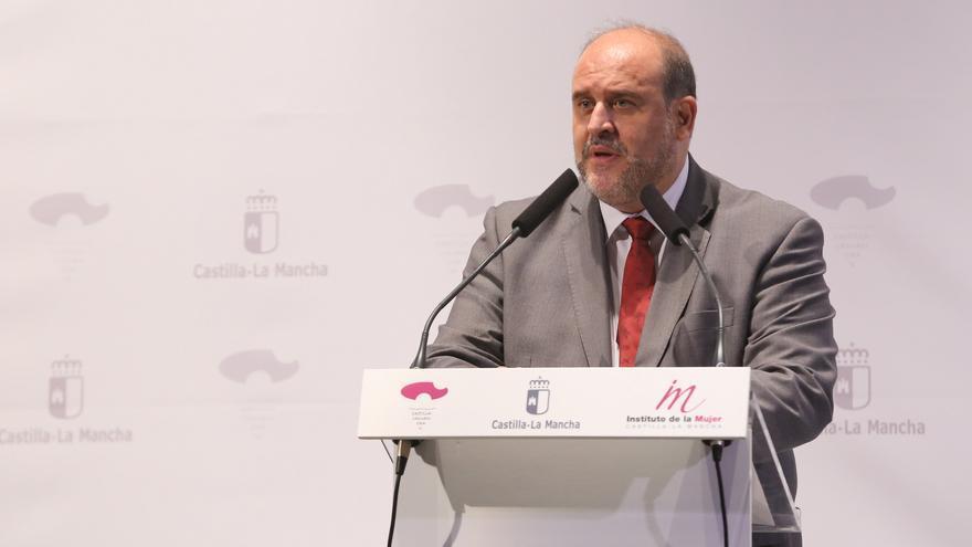 José Luis Guijarro en el acto institucional del Día de la Mujer Rural