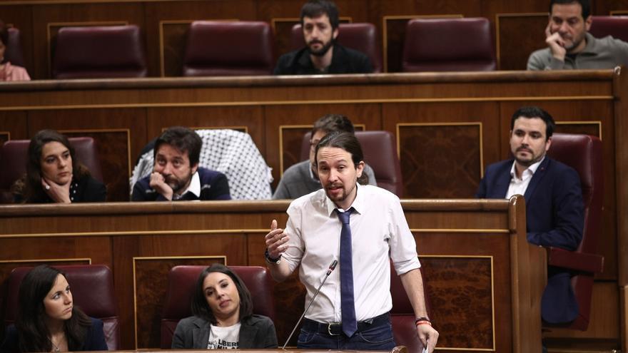 La moción de censura de Pablo Iglesias está a 100 escaños de la mayoría absoluta que necesita para prosperar