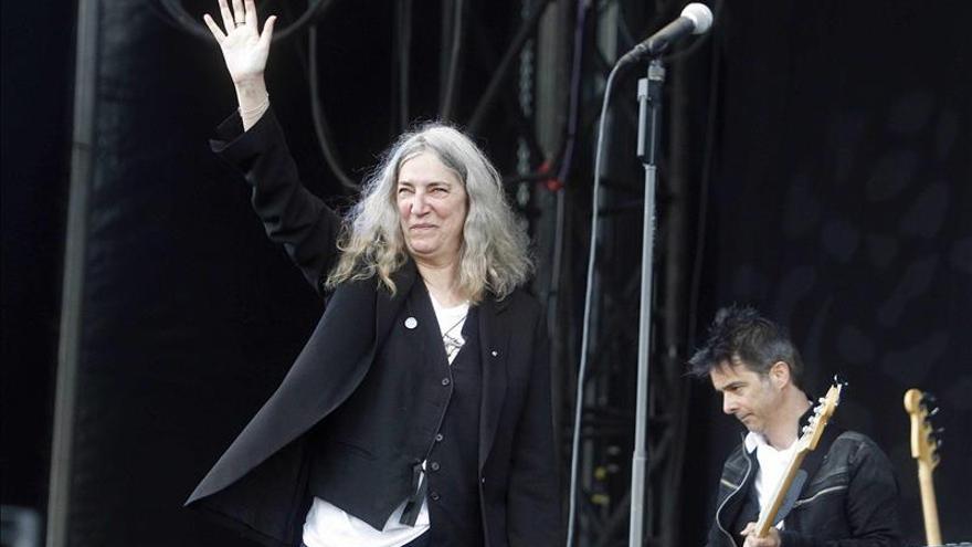 Patti Smith convierte el auditorio del Primavera Sound en una pista de baile