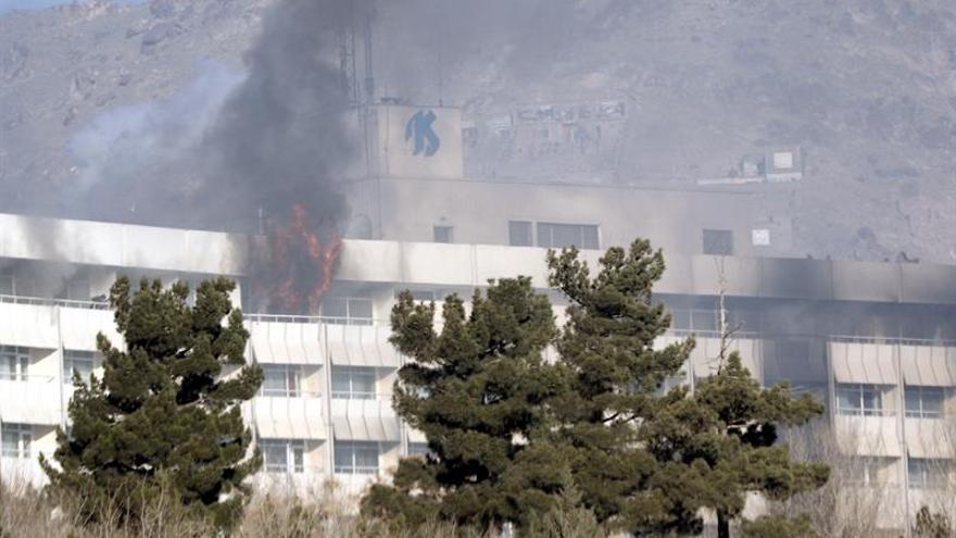 Un ataque al Hotel Intercontinental de Kabul deja diez muertos