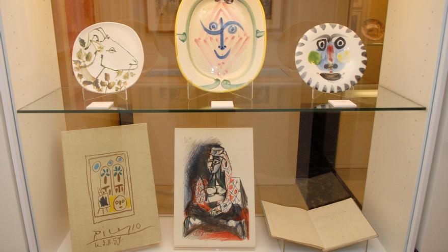 Piezas del Museo Picasso-Colección Eugenio Arias, ubicado en Buitrago de Lozoya / Andrés de Gabriel.