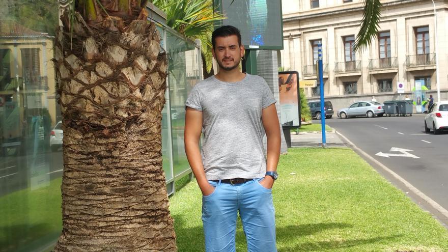 Robert Nazco es graduado en Ingeniería de Edificación. Foto: LUZ RODRÍGUEZ.