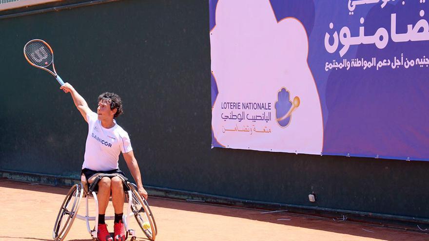 Cisco García, en el torneo disputado en Marruecos.