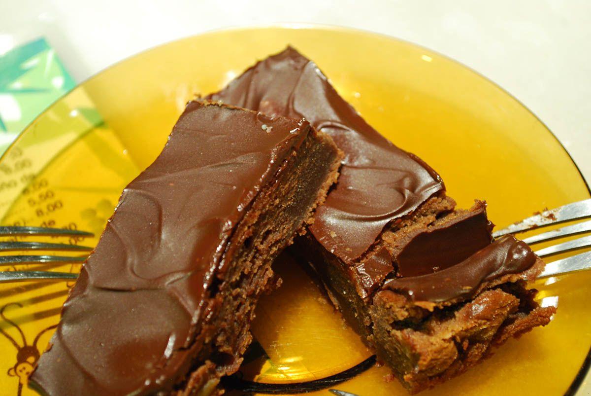 Brownie de chocolate y plátano_Malasaña a mordiscos_Coco Bar