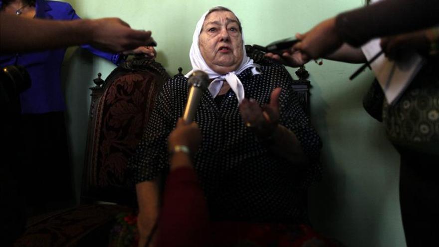 La presidenta de las Madres de la Plaza de Mayo apoya la polémica reforma judicial argentina