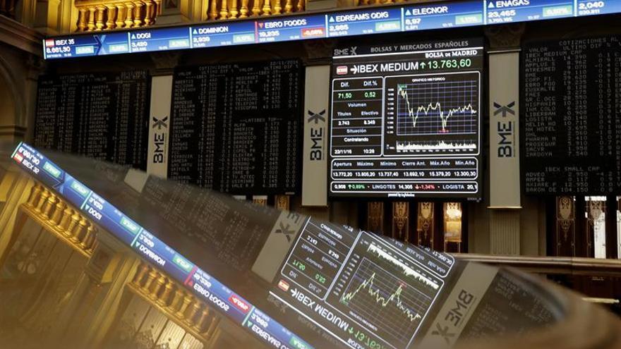 La Bolsa española abre con una leve subida del 0,16 %