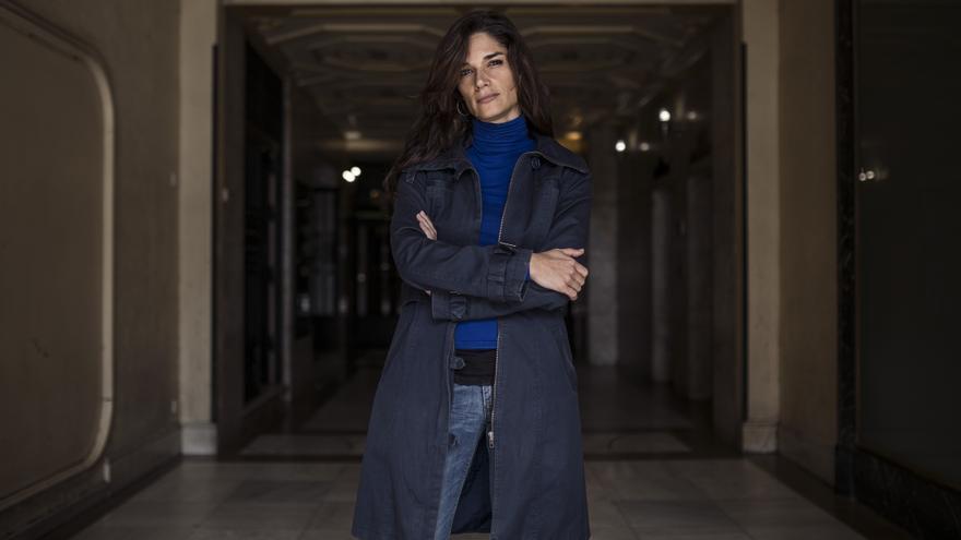 Clara Serra, nueva portavoz de Podemos en la Asamblea de Madrid. / Olmo Calvo
