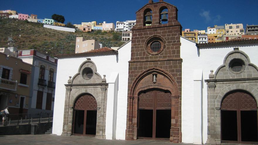 Fachada de la iglesia de La Asuncion