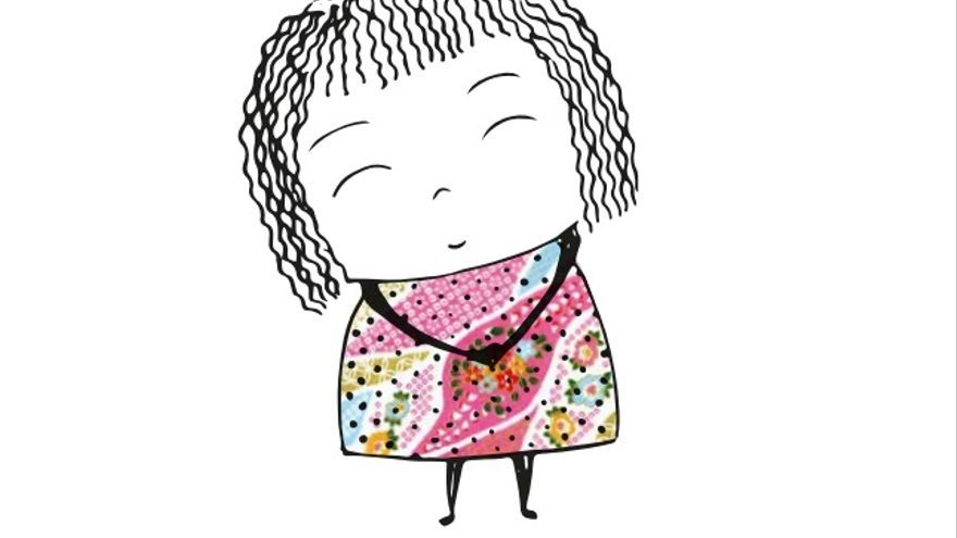 Amara, la ilustración de Sara Fuentes para la Asociación de Padres de Niños con Cáncer en Cantabria.